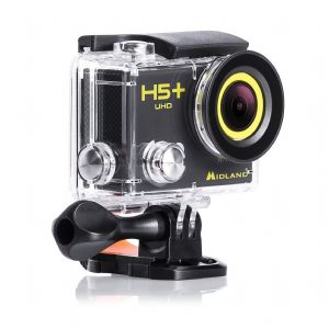 Midland H5+ UHD Action Camera With Integrated WiFi